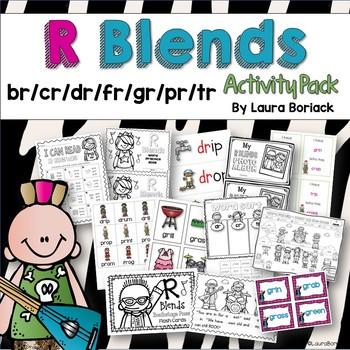 R Blends {Activity Pack}