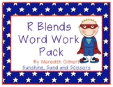 R Blends Word Work Pack