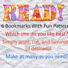 READ! Brightly Patterned - One for every reader!
