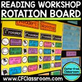 READER WORKSHOP ROTATION BOARD (classroom management/organ