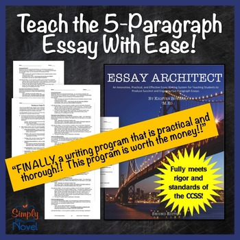 Essay Writing Bundle: Get ALL Students Writing a 5 Paragra