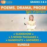 Prose, Drama, and Poetry Unit RL.4.5