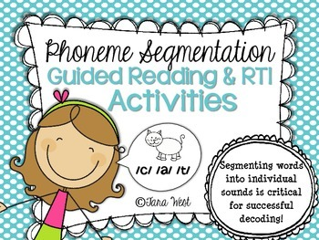 RTI & Guided Reading {Phoneme Segmentation Activities}
