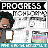 RTI & IEP Progress Monitoring Collection {K-3 Edition}
