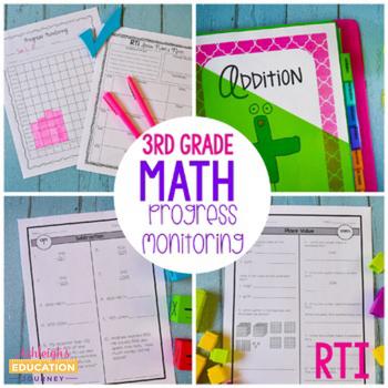 RTI Math Progress Monitoring-Third Grade