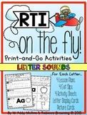 RTI on the Fly: Letter Sounds