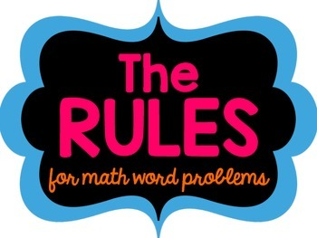 RULES for Solving Math Problems