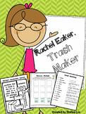 Rachel Eaker: Recycling, Pollution, Conservation