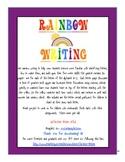 Rainbow Alphabet Writing A-Z Worksheets