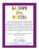 Rainbow Number Writing 0-9