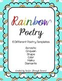 Rainbow Poetry Freebie