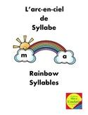 Rainbow Syllables  - Arc-en-ciel de syllabe  Early Reading