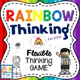 Rainbow Thinking: FLEXIBLE THINKING GAME for Rigid Black o
