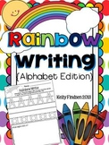 Rainbow Writing Handwriting Set- ABC's