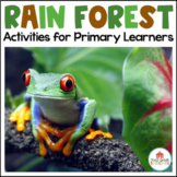 Rainforest Activities for Primary Learners