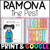 Ramona the Pest by Beverly Cleary: Complete Unit of Readin
