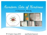 Random Acts of Kindness - A Classroom Holidays Activity