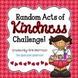 Random Acts of Kindness Challenge!