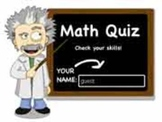 Ratio Quiz (10 Q)