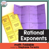 Rational Exponents Foldable