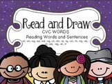 Read and Draw - CVC Words