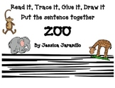 Read it, Trace it, Glue it, Draw it, Zoo