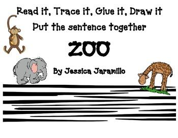 Read it, Trace it, Glue it, Draw it, Zoo