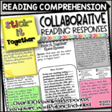 Reading Response Collaborative Activity - Stick-It Together