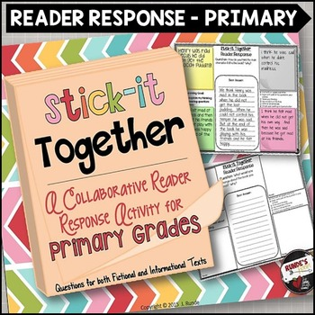 Reader Response Collaborative Activity for Primary Grades - Stick-It Together