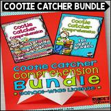 Reader Response Cootie Catcher Comprehension Bundle - Scho