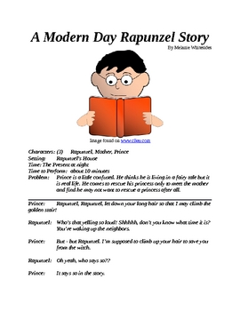 Reader's Theater -- A Modern Day Rapunzel Story