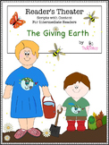 Reader's Theater Script, Earth Day, Organic Garden, Pollin