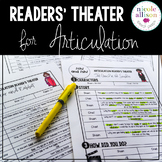 Readers Theater for Articulation Speech Therapy