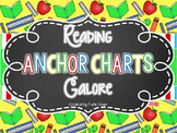 Reading Anchor Charts Galore {Over 40 ELA Anchor Charts}