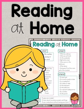 Reading At Home - Free Printable
