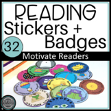 Reading Badges:  Use Genre Stickers Motivate Reading