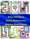 Reading Board Games: Orton Gillingham - Phonics Fun