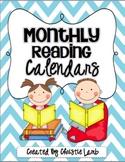 Reading Calendars {Monthly Blank Calendars}