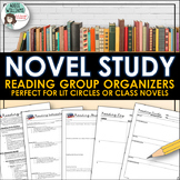 Reading Circles / Lit Circles - Organize Student Novel Discussion