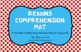 Reading Comprehension Mat - Great for any grade level!