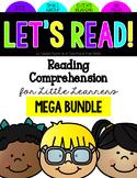 Reading Comprehension for Little Learners Mega Bundle