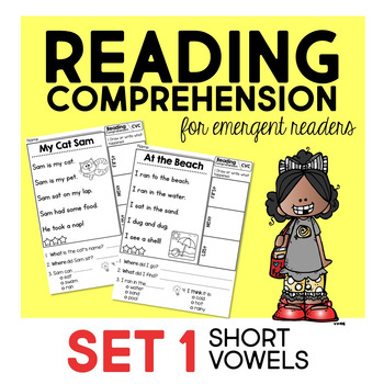 Reading Comprehension for emergent readers