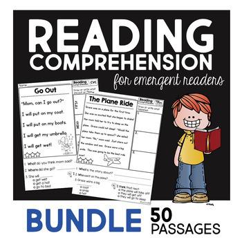 Reading Comprehension for emergent readers - BUNDLE