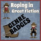 Reading Fiction Genre Badges