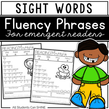 Reading Fluency Phrases