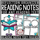 Reading Graphic Organizers {FREEBIES to Use on Fiction & N