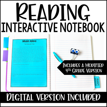 Reading Interactive Notebook {Literature and Informational}