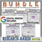 Reading Intervention Program for Big Kids Levels H-K BUNDL