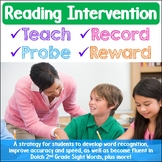 Reading Intervention Strategy Second Grade Dolch Sight Words