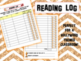 Reading Log - Hollywood Theme